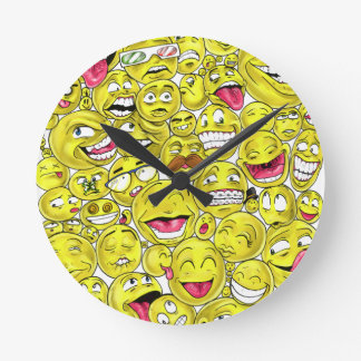 Emoticons Clock