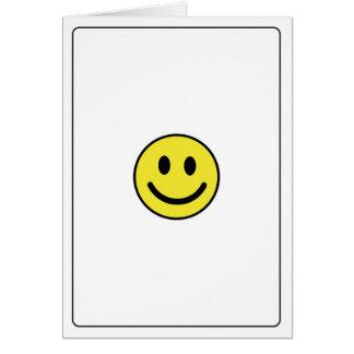 Emoticons - Happy Card