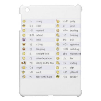 Emoticons iPad Mini Case