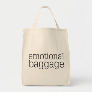 Emotional Baggage Grocery Tote Bag