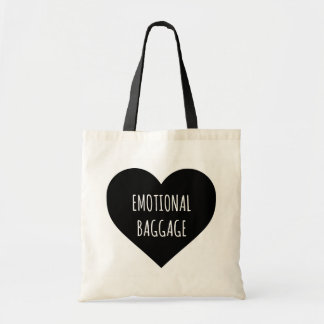 Emotional Baggage Heart Tote