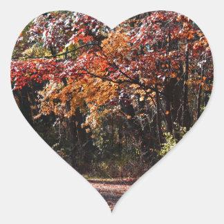Emotional Collapse Heart Sticker