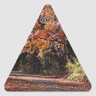 Emotional Collapse Triangle Sticker