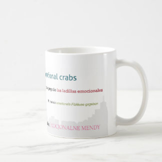 Emotional Crabs Cityscape Coffee Mug