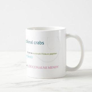 Emotional Crabs Whimsy Coffee Mug