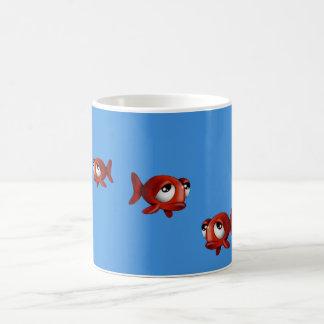 Emotional fish Coffee Mug