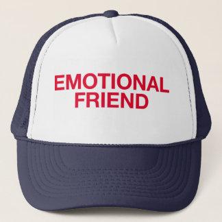 EMOTIONAL FRIEND fun slogan trucker hat
