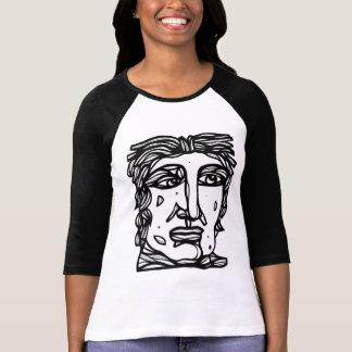 """Emotional Intense"" Women's 3/4 Sleeve Raglan T-Shirt"