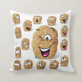 Emotional Roll Throw Pillow