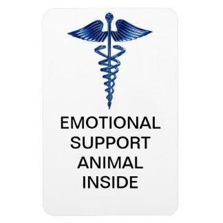 Emotional Support Animal Inside Magnet
