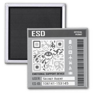 Emotional Support Device Magnet