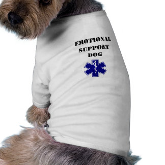 Emotional Support Dog Tank Top T-Shirt All Sizes