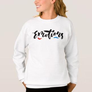 Emotions - Hand Lettering Design Sweatshirt