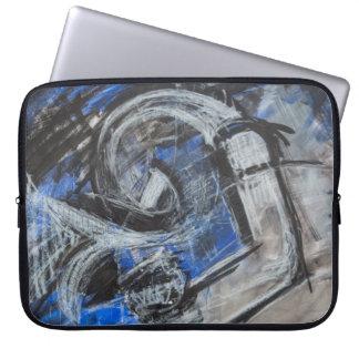 Emotions now open artwork laptop sleeve