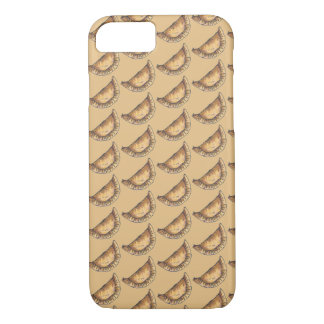 Empanadas Spanish Latin American Food Pastry Tan iPhone 8/7 Case