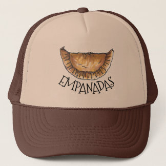 Empanadas Spanish Latin American Food Pastry Trucker Hat