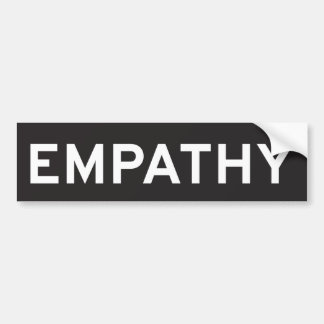 Empathy Bumper Sticker