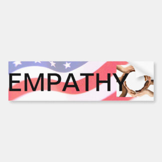 Empathy (kindness, caring) bumper sticker
