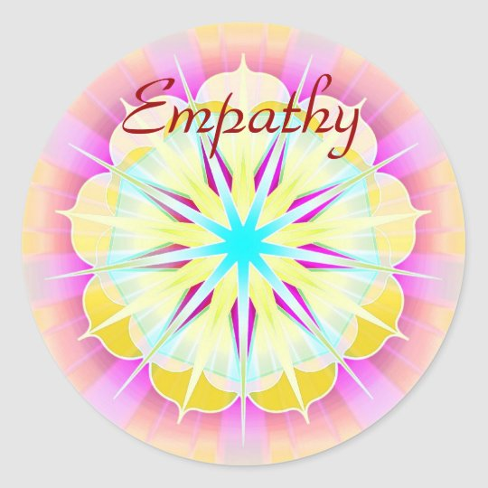 Empathy (Virtue sticker) Round Sticker