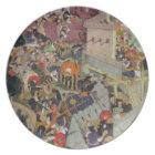 Emperor Akbar (r.1556-1605) shoots Saimal at the S Plate