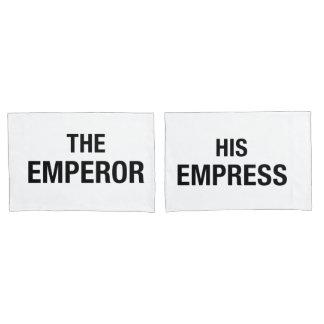 Emperor and Empress Couple Pillowcases