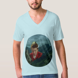 Emperor David V-Neck T-Shirt