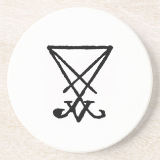 Emperor Lucifer Honorary Offering Disk Coaster