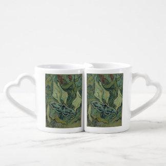 Emperor Moth by Vincent Van Gogh Lovers Mug Sets