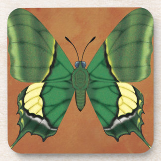 Emperor of India Butterfly Beverage Coasters
