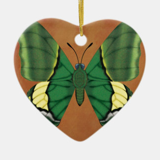 Emperor of India Butterfly Ceramic Ornament