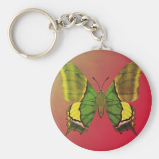 Emperor of India Butterfly Keychain