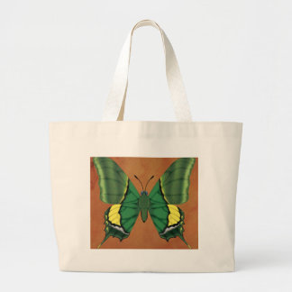 Emperor of India Butterfly Large Tote Bag