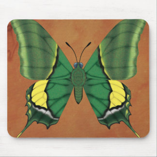 Emperor of India Butterfly Mouse Pad