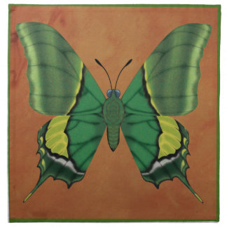 Emperor of India Butterfly Napkin