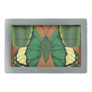 Emperor of India Butterfly Rectangular Belt Buckle