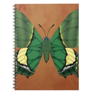 Emperor of India Butterfly Spiral Notebook