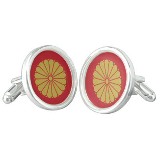 Emperor of Japan Cuff Links