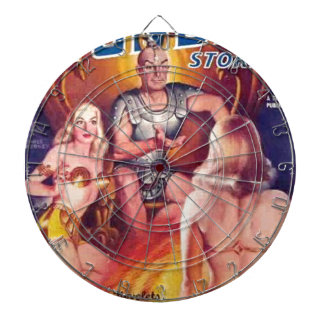 Emperor of Space with his Concubines Dart Board
