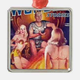 Emperor of Space with his Concubines Metal Ornament