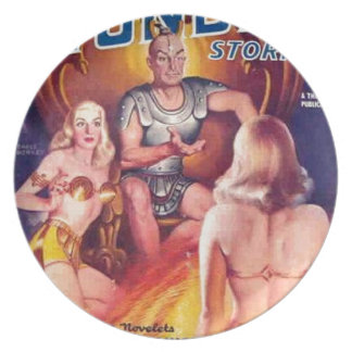 Emperor of Space with his Concubines Plate