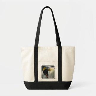Emperor Penguin Canvas Tote Bag