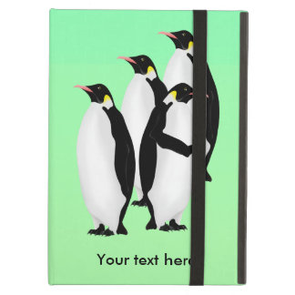 Emperor Penguin Online Line Cover For iPad Air