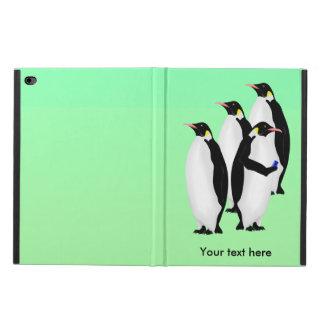 Emperor Penguin Using A Mobile Device
