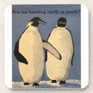 Emperor Penguins Coaster