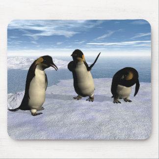 Emperor Penguins Mouse Pad
