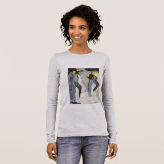 Emperor Penguins on Ice Long Sleeve T-Shirt
