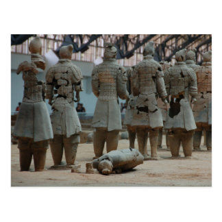 Emperor Qin's terracotta army Xian China Postcard