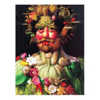 Emperor Rudolf II as Vertumnus Postcard