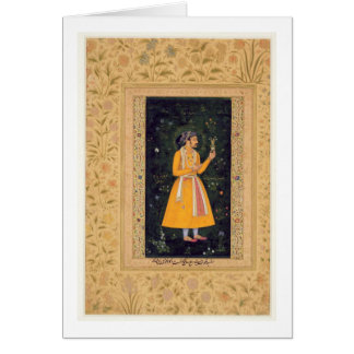 Emperor Shah Jahan (1592-1666) (r.1627-1658) as a Card