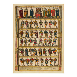 Emperors of the Holy Roman Empire Poster